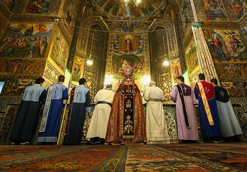 The five most famous churches in Iran