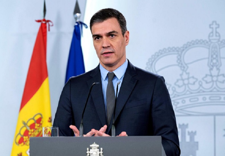 What does the famous poem cited by Pedro Sánchez refer to?