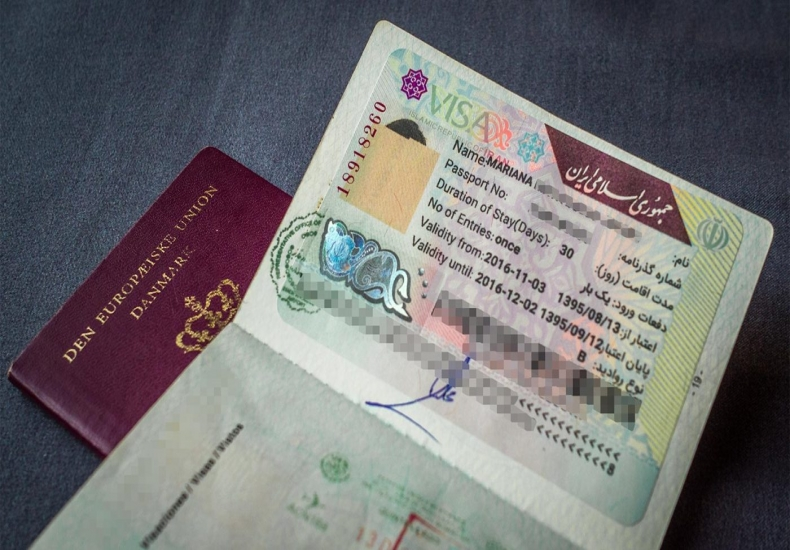 Elimination of Iran Visa Stamps
